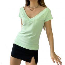 New Design Off the Shoulder Top for Women TLS202