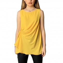 Women Sleeveless Loose Fit Vintage Blouse for Ladies Sexy Vintage Blouse TLS201