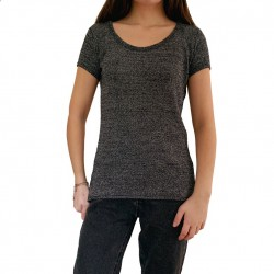 High Quality Short Sleeve Women's T-Shirt with Your Logo TLS204