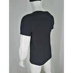 Organic Cotton Short Sleeve Undershirts with Your Brand  for Men TLS78