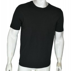 Organic Cotton Short Sleeve Undershirts with Your Brand for Men TLS79