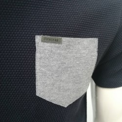High Quality Customizable T-shirts with Pocket for Men TLS109