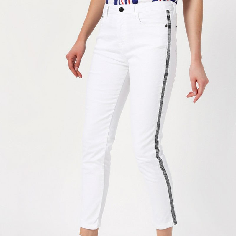 Side Striped Trousers for Women