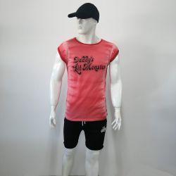 Customizable Printed Sleeveless T-shirts for Men TLS119