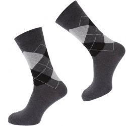 OEM Comfortable Plaid Mens Socks TLS122