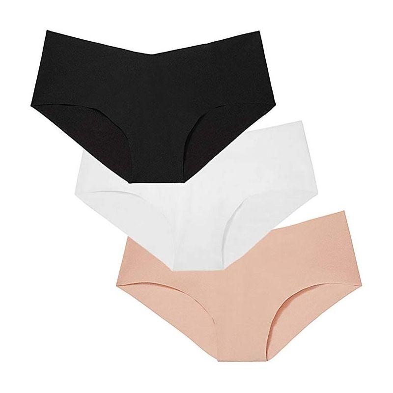 Girls Fashion 100% Cotton Comfortable Sexy Low-Rise Seamless Thong Panties TLS184