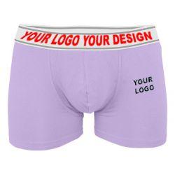 Men Boxer Shorts with OEM Customized Logo TLS195