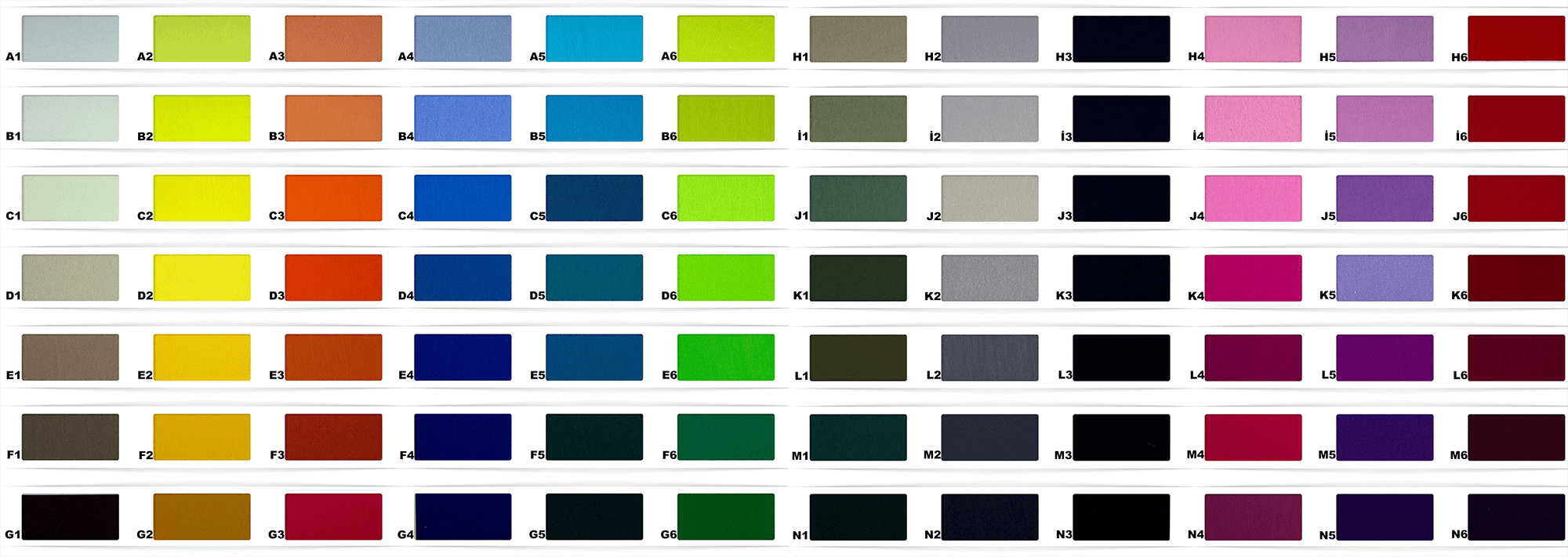 pantone fabric colors